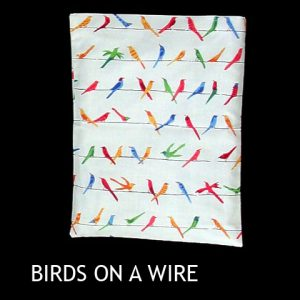 526-CP BIRDS ON  A WIRE